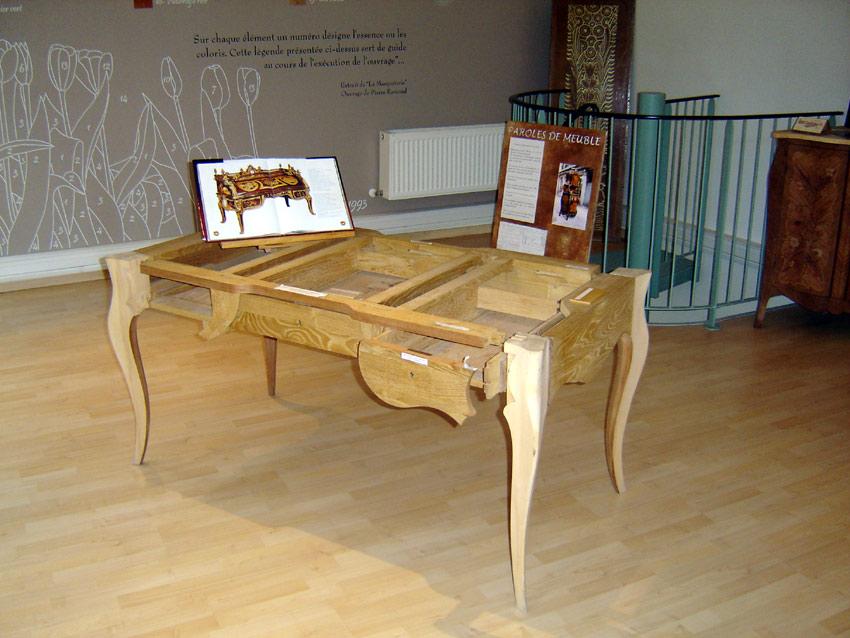 ville de revel mus e du bois et de la marqueterie les essences de bois. Black Bedroom Furniture Sets. Home Design Ideas
