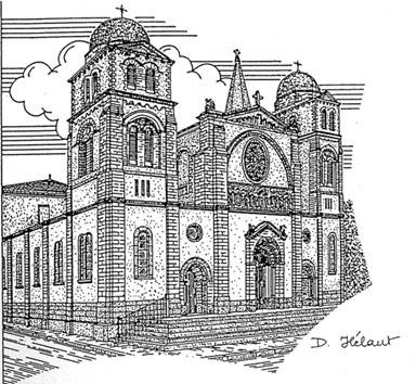 Eglise paroissiale revel - Eglise dessin ...
